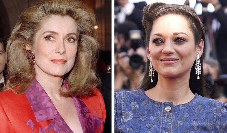 famosos antguos actuales14 - 13 fotos comparan a los famosos antiguos y a las celebridades actuales a la misma edad