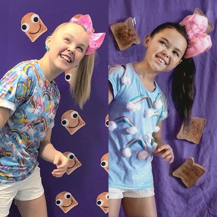 nina recrea looks7 - 17 fotos de Riley, la niña de 12 años que recrea los mejores atuendos de las famosas
