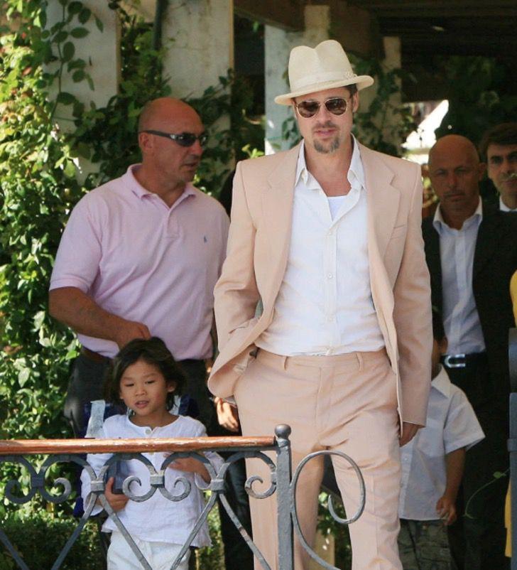 diferencias angelina brad11 - 16 fotos de la diferencia entre cómo se lleva Angelina Jolie con sus hijos y cómo lo hace Brad Pitt