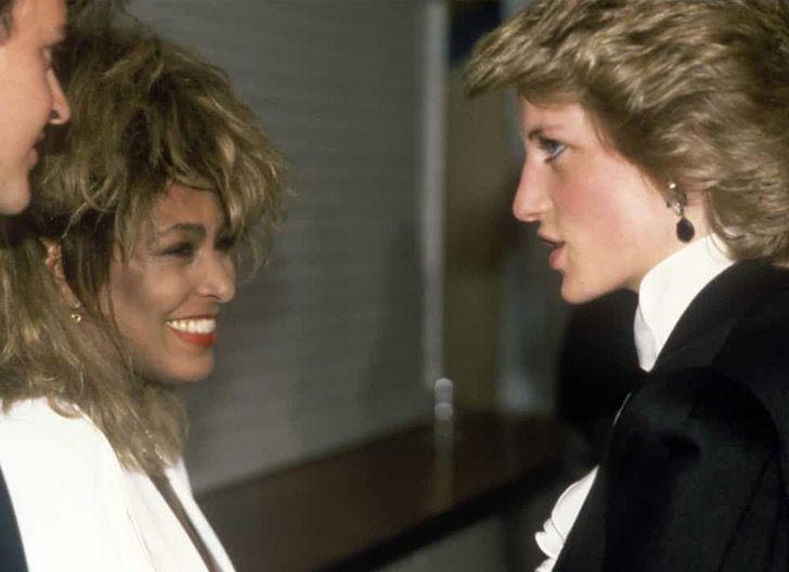 princesa diana famosos13 - 19 fotos de famosos que tuvieron la oportunidad de conocer a la princesa Diana de Gales