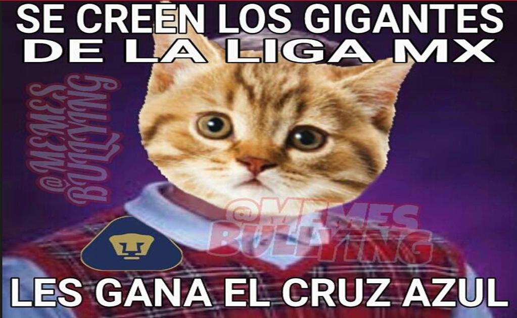 Los Memes No Perdonaron A Pumas Por Perder Ante El Cruz
