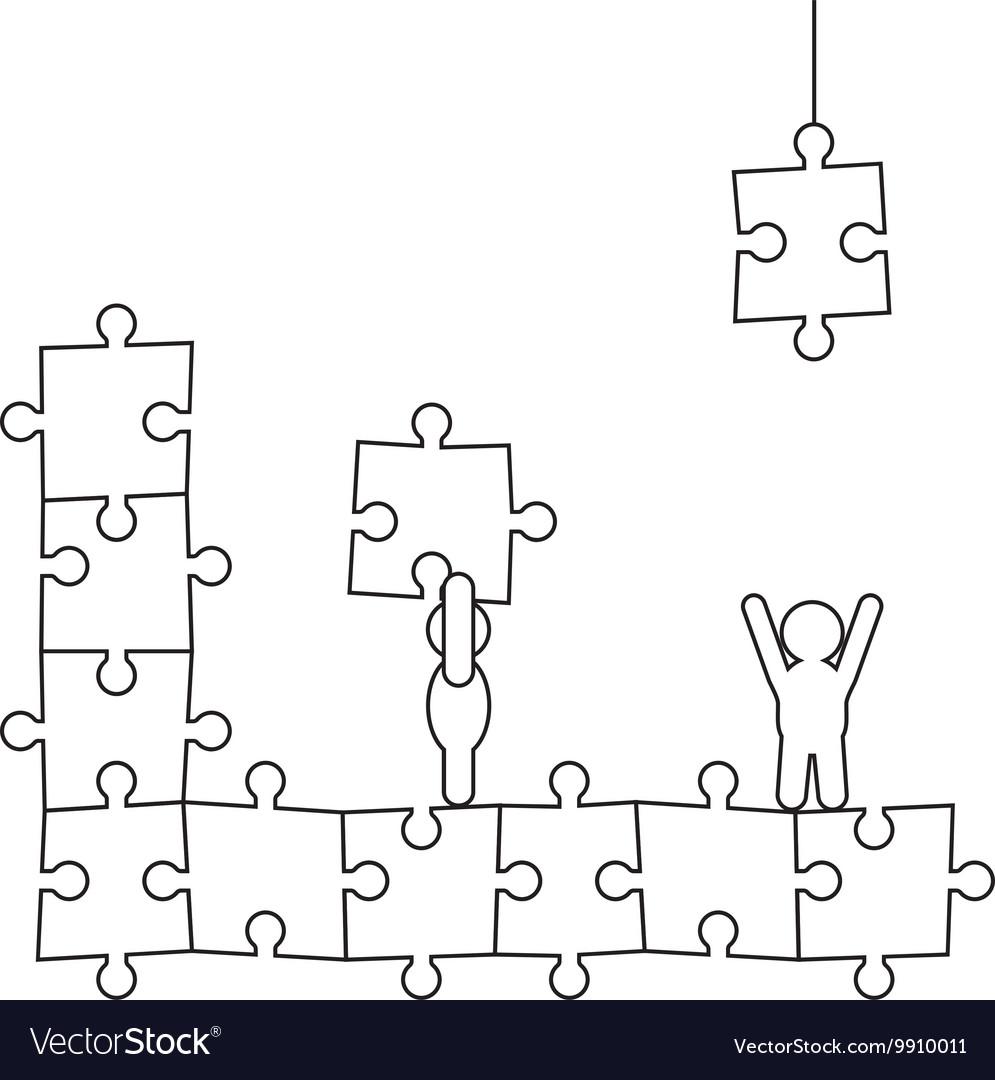 doodle manikins make puzzle