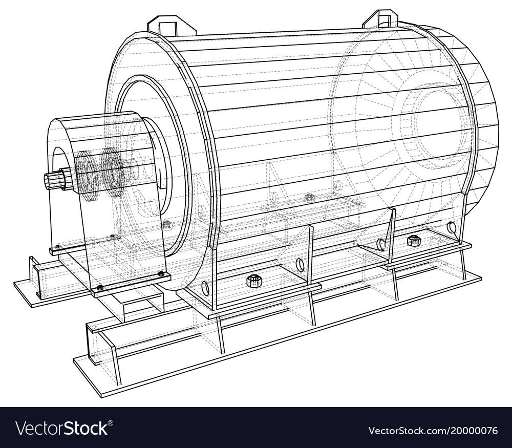 hight resolution of industrial pump diagram