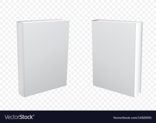 Books transparent background Royalty Free Vector Image