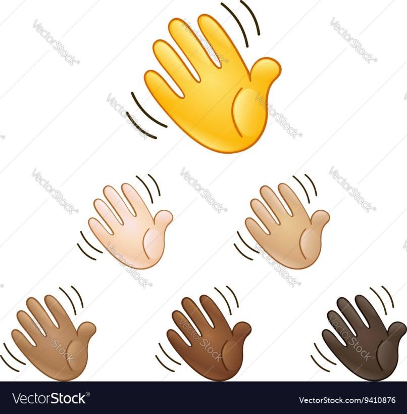 Waving Hand And Kiss Lips Emoji   Lipstutorial org