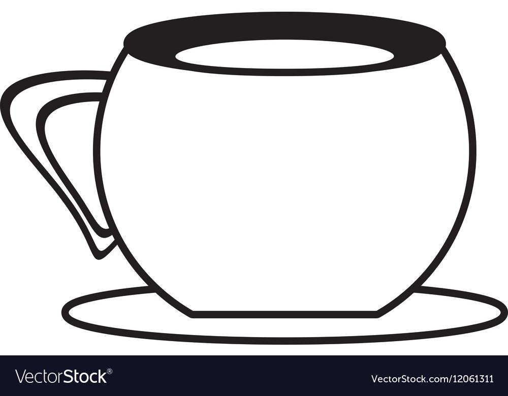 cup coffee plate utensil