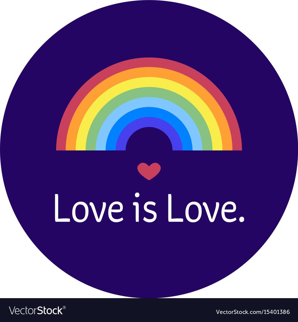 lgbt community bage love