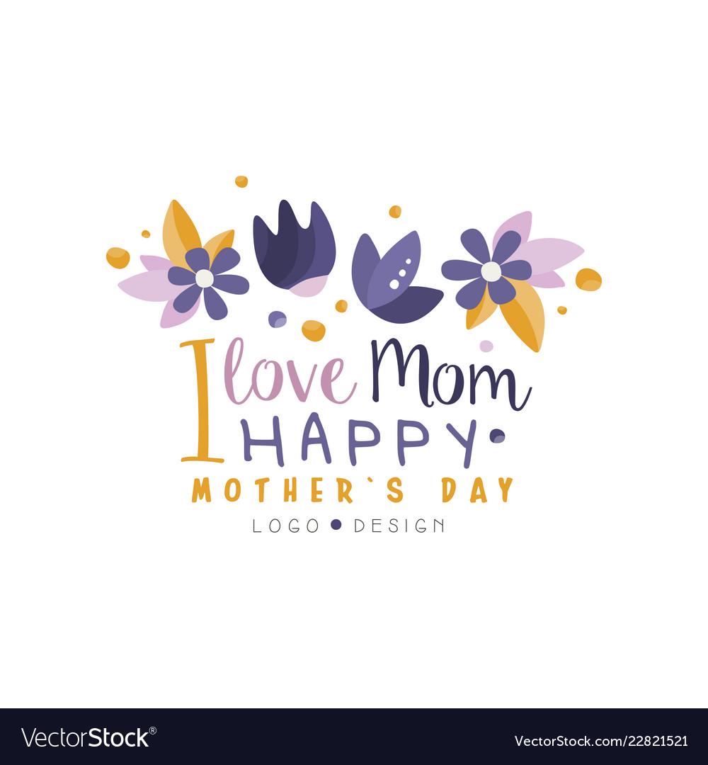i love mom logo