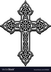 ornate christian cross royalty