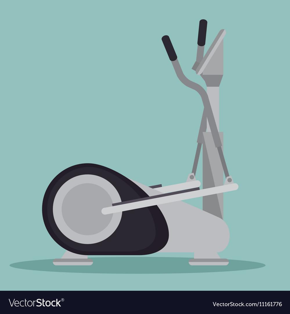 elliptical machine gym icon