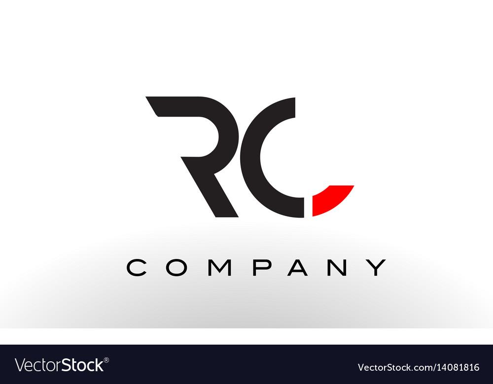 rc logo letter design
