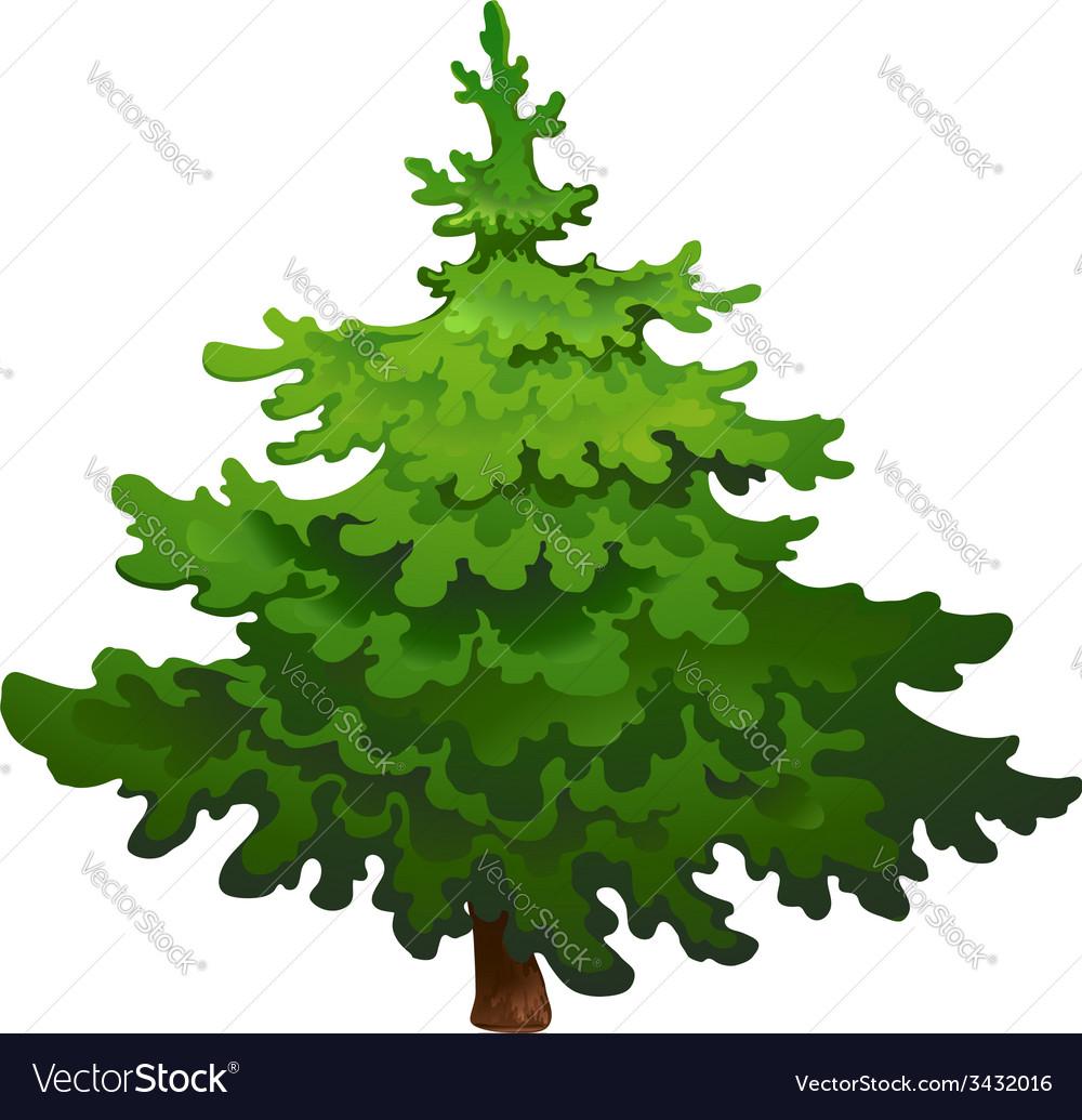 pine tree drawing