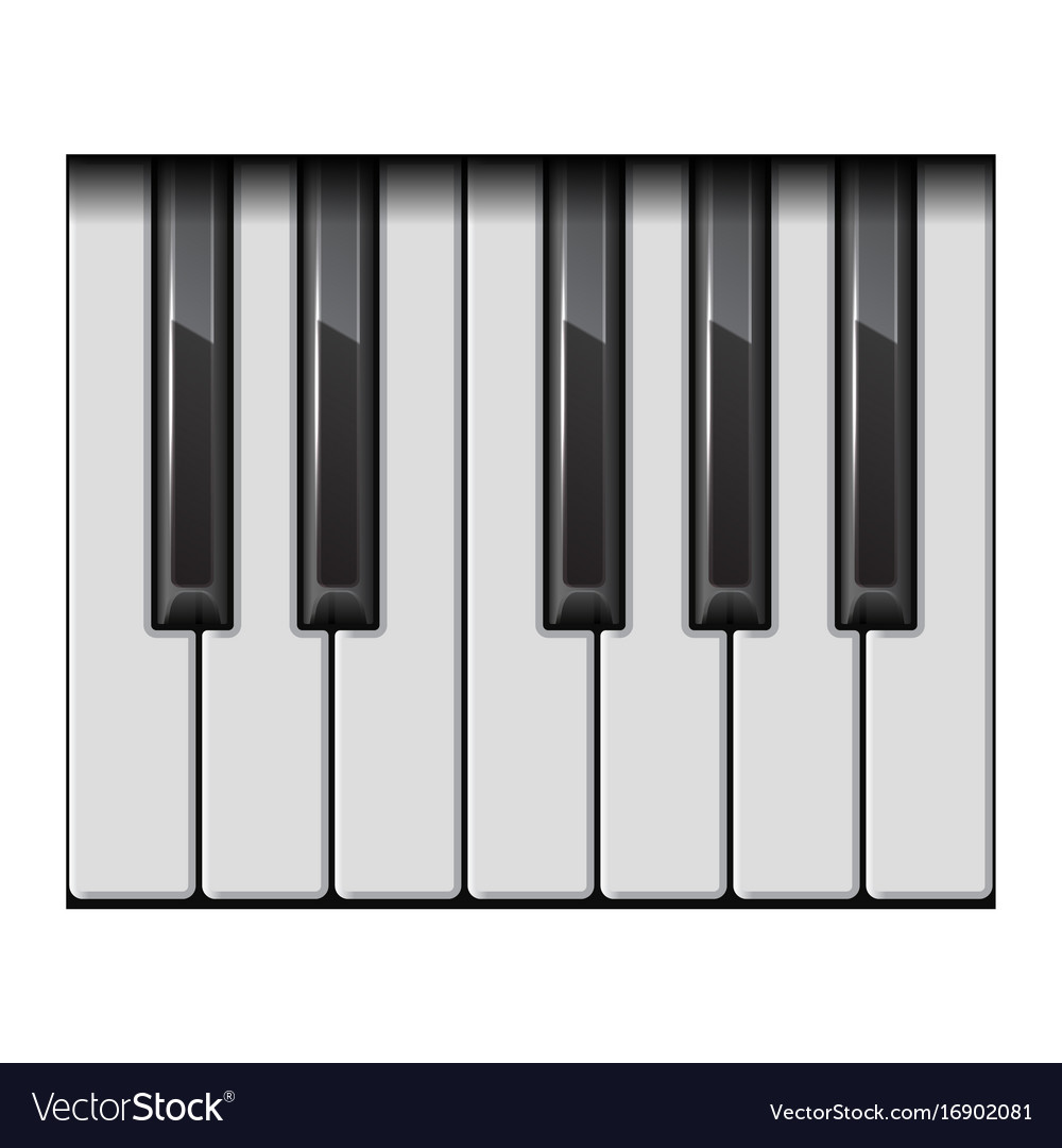 piano one octave keys