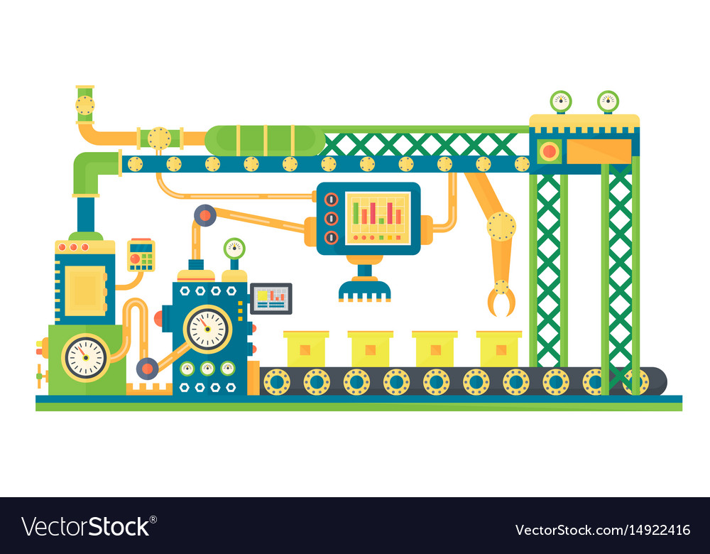 automatic stock line robots