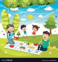 family picnic clipart [ 1000 x 1080 Pixel ]