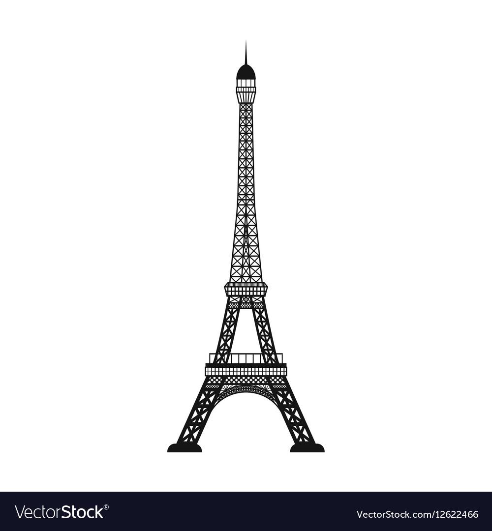 eiffel tower icon in