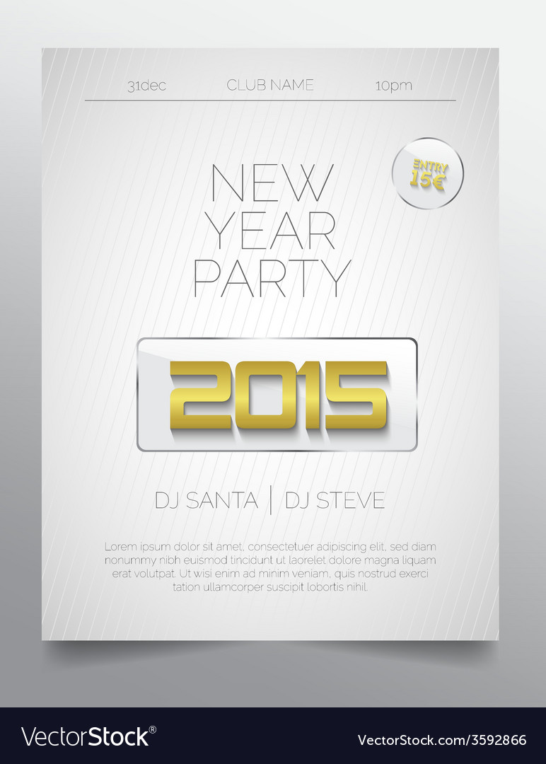 New Year Brochure Template ] | New Year Brochure Templates, New Year ...
