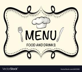 Restaurant Menu Logo Png