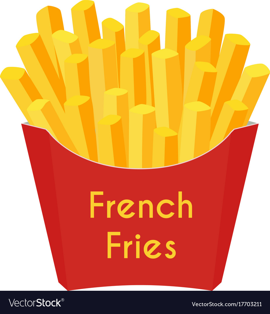French Fries Art
