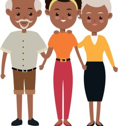 african american family clipart [ 829 x 1080 Pixel ]