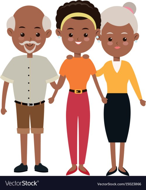 small resolution of african american family clipart