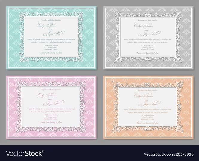 Wedding Invitations Postcards Greeting