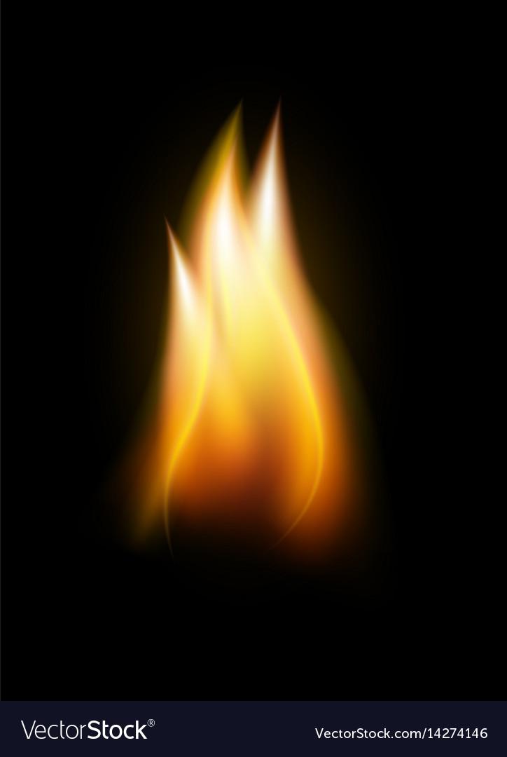 realistic flame tongue element