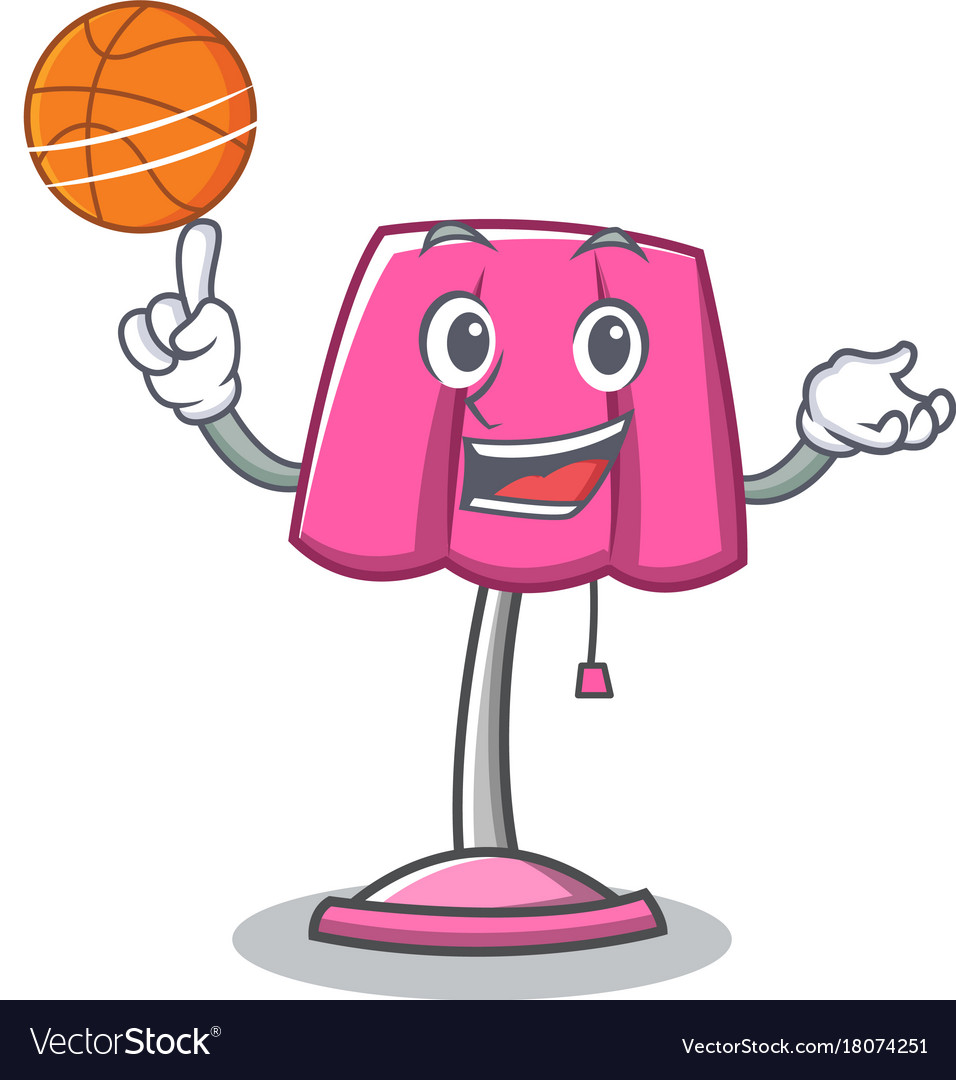 Basketball Chairs With Basketball Furniture Lamp Character Cartoon
