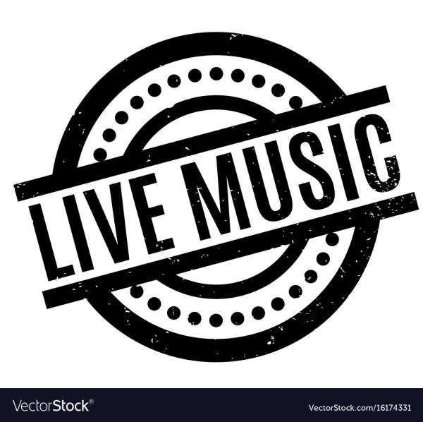 live music rubber stamp royalty