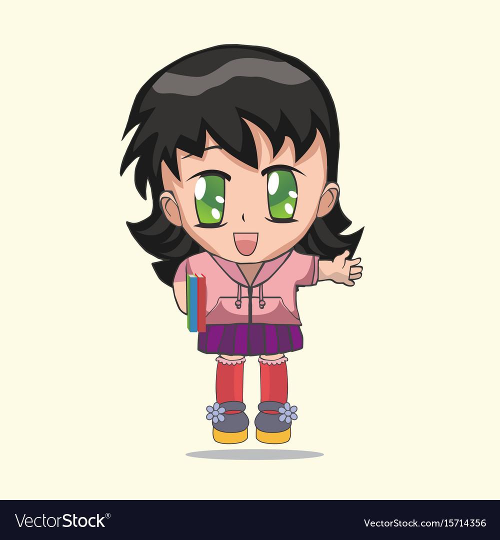 cute anime chibi little