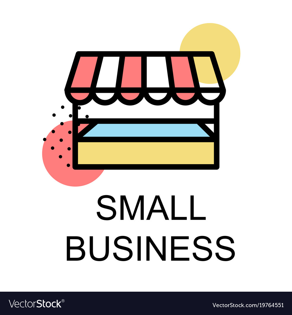 small business icon for