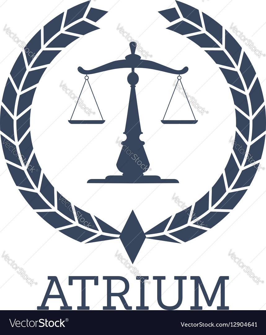 legal company icon justice