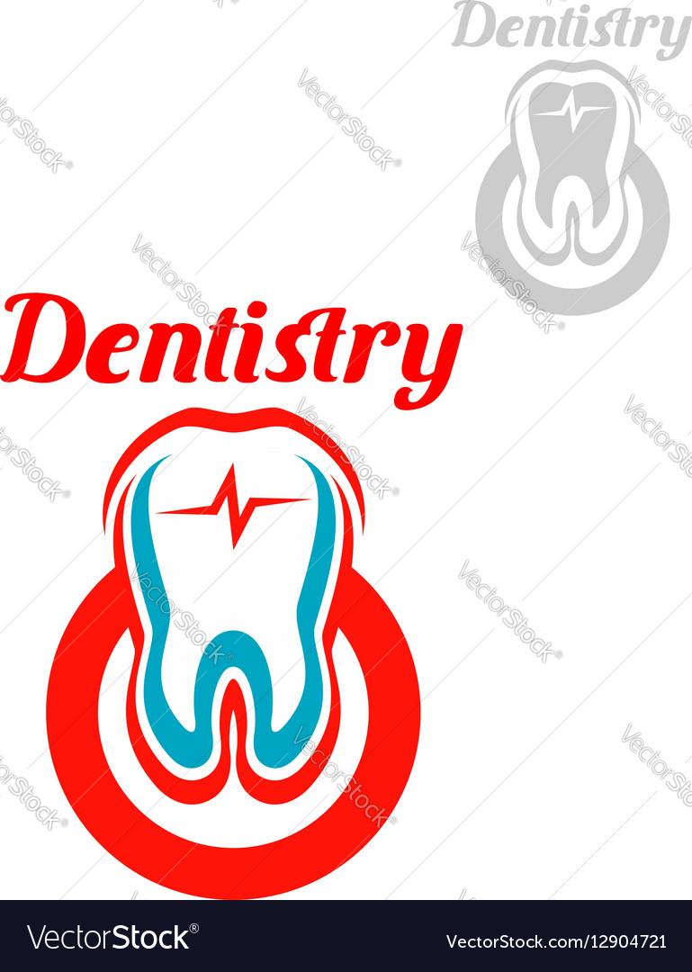 dentistry icon or emblem