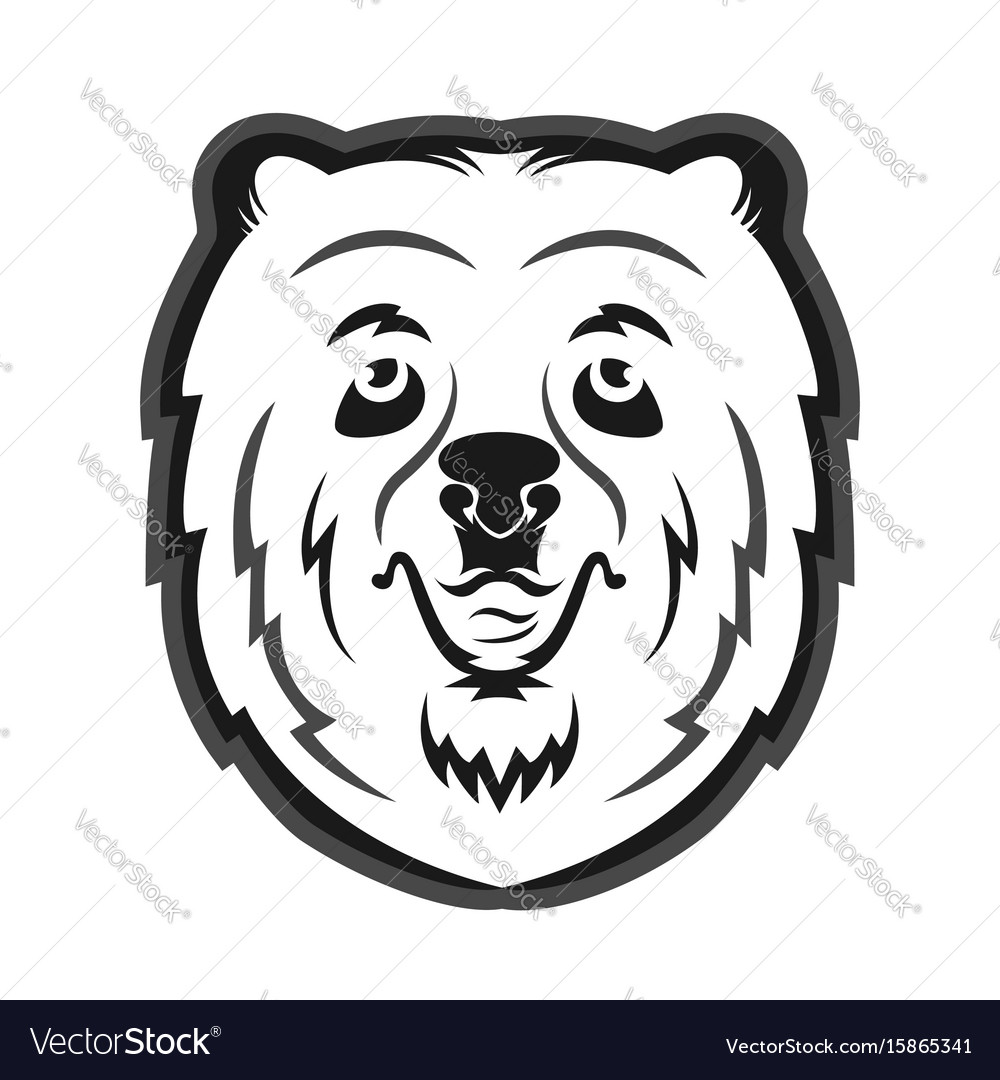 hight resolution of bear mascot clipart