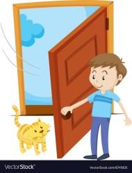 Open The Door Clipart