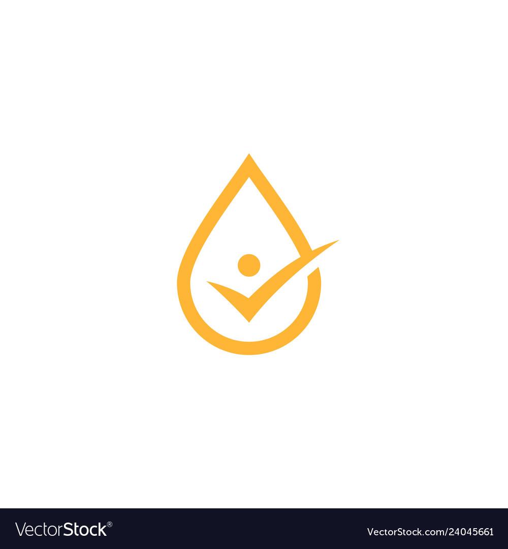 oil drop check logo