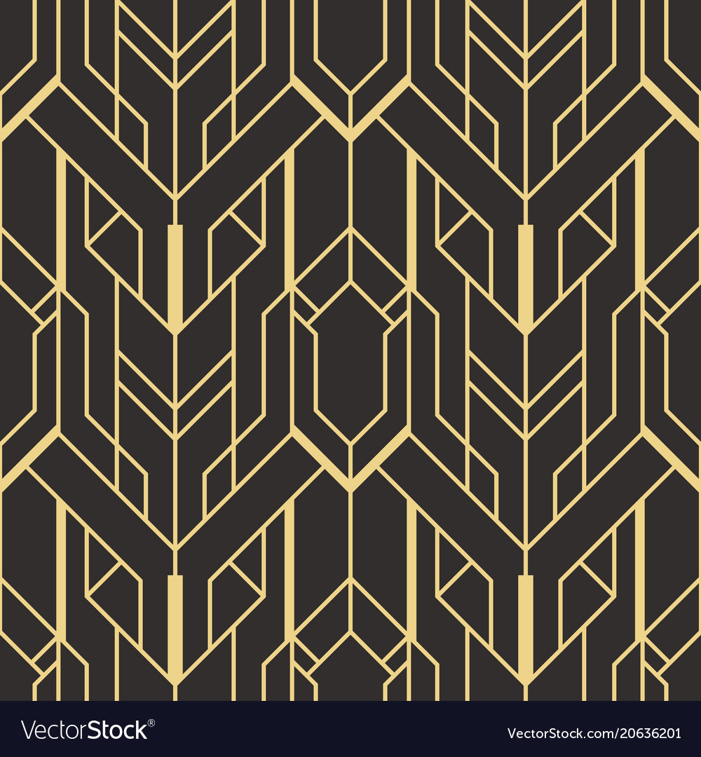 abstract art deco seamless
