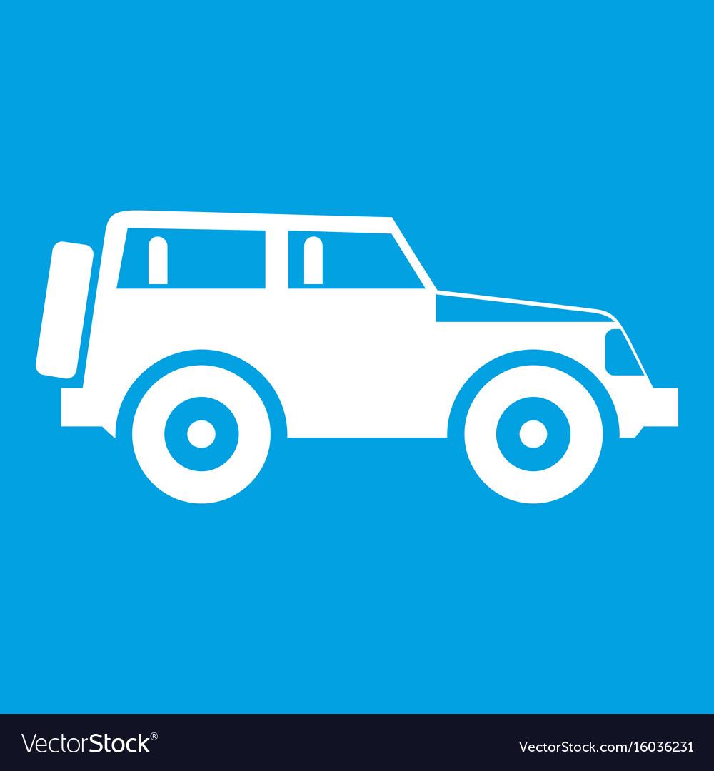 jeep icon white