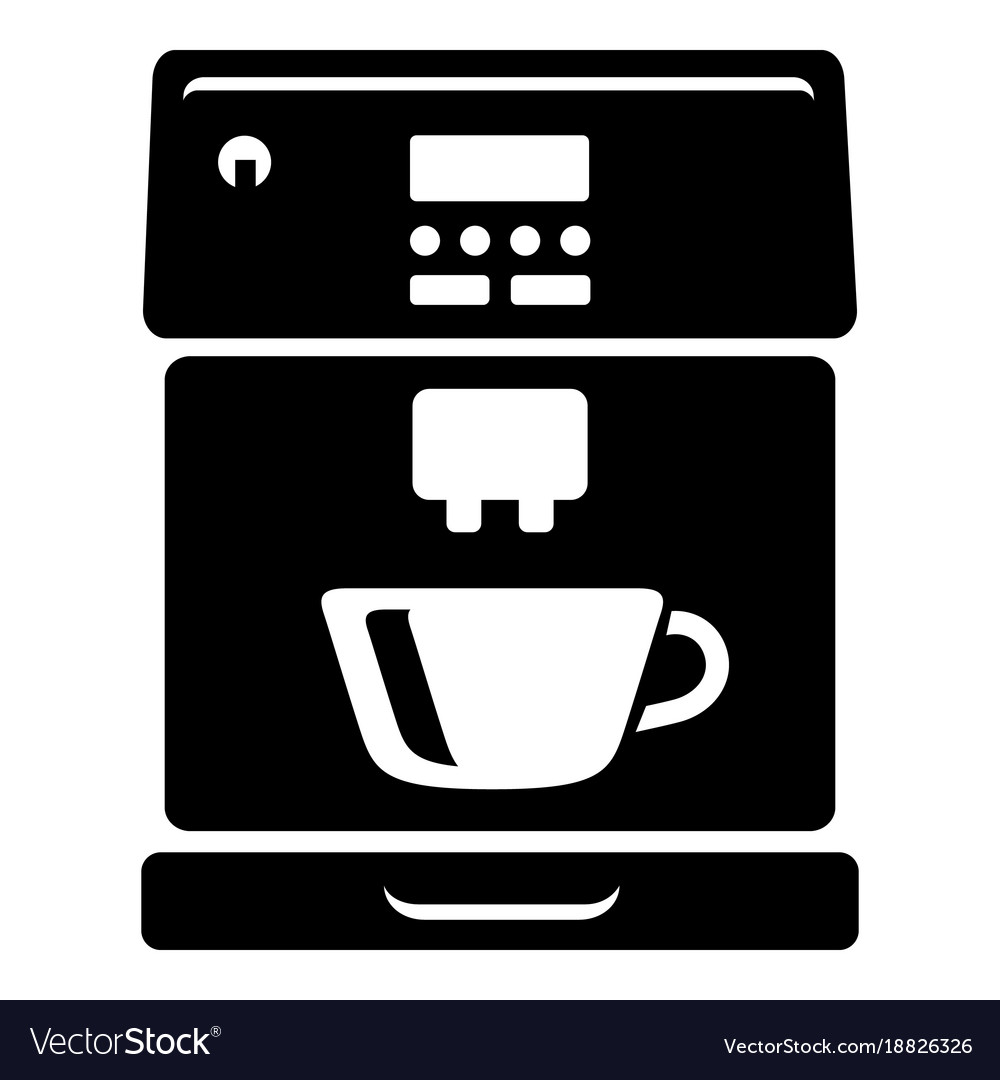 coffee machine icon simple