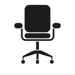 Office Chair Vector Bed Bath And Beyond Icon Royalty Free Image Vectorstock