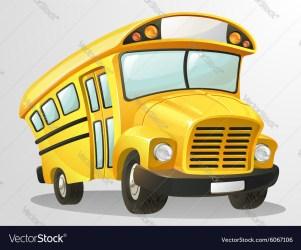 bus cartoon vector royalty vectorstock