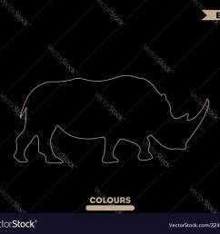 rhino head diagram [ 1000 x 899 Pixel ]