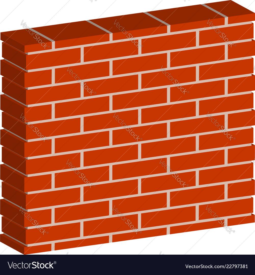 3d spatial brick wall