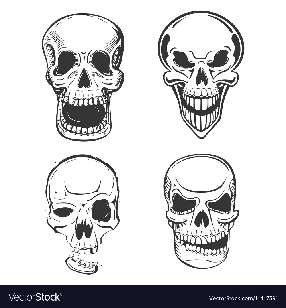 Pirate Skull Tattoo Drawings