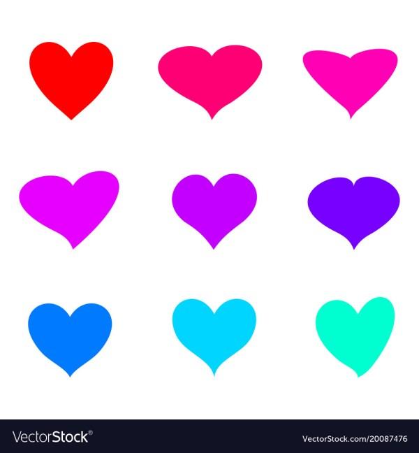 hearts colors # 8
