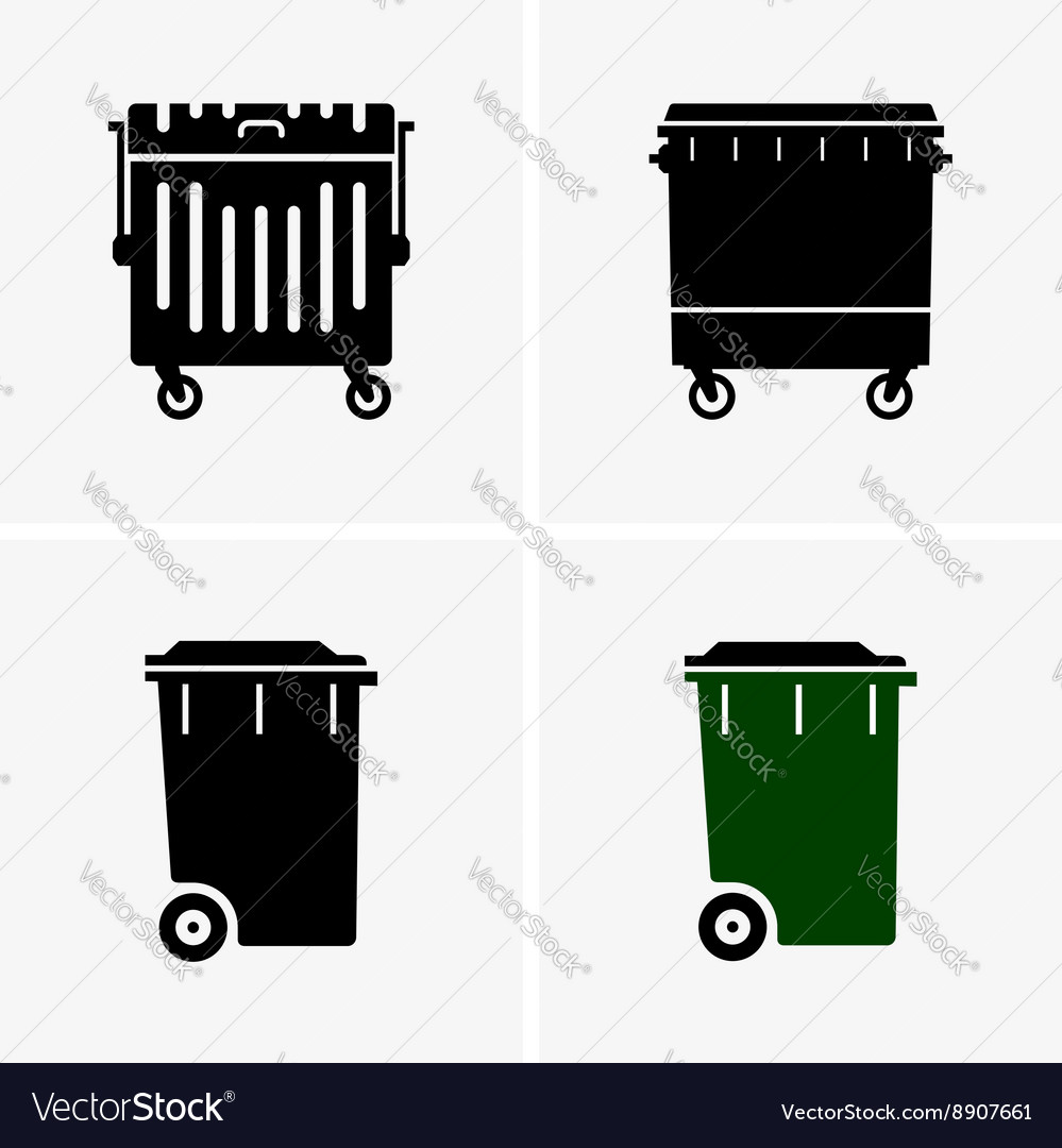 dumpster royalty free vector