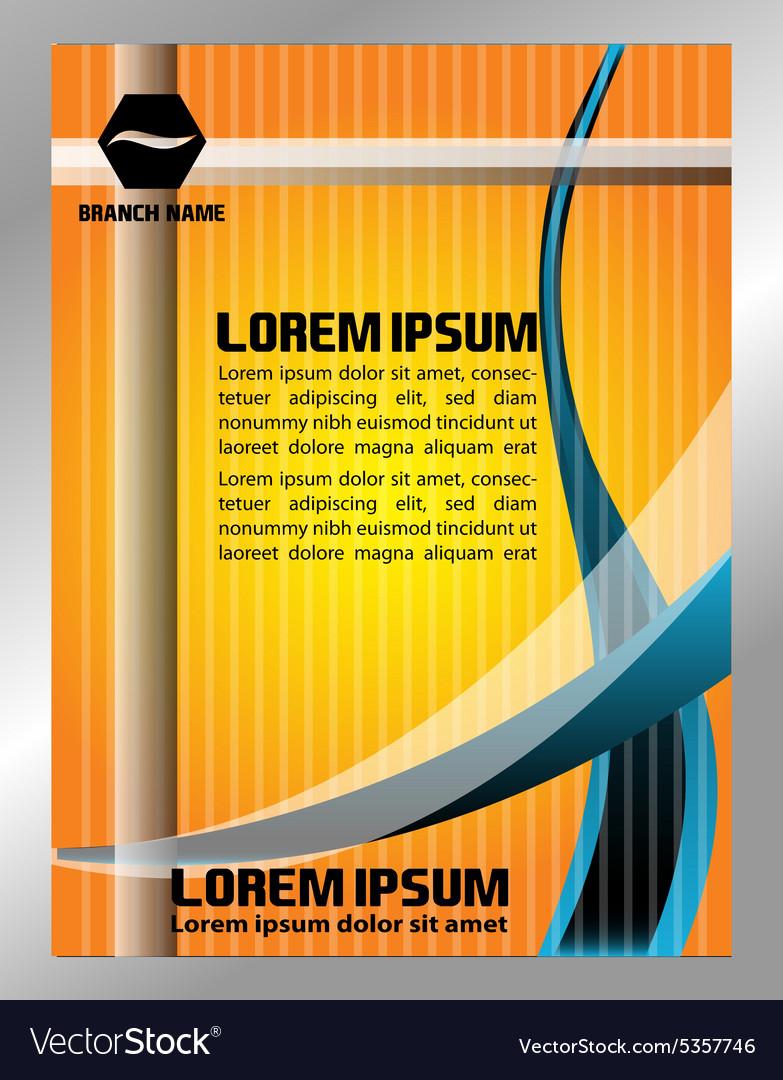 flyer background design yerat