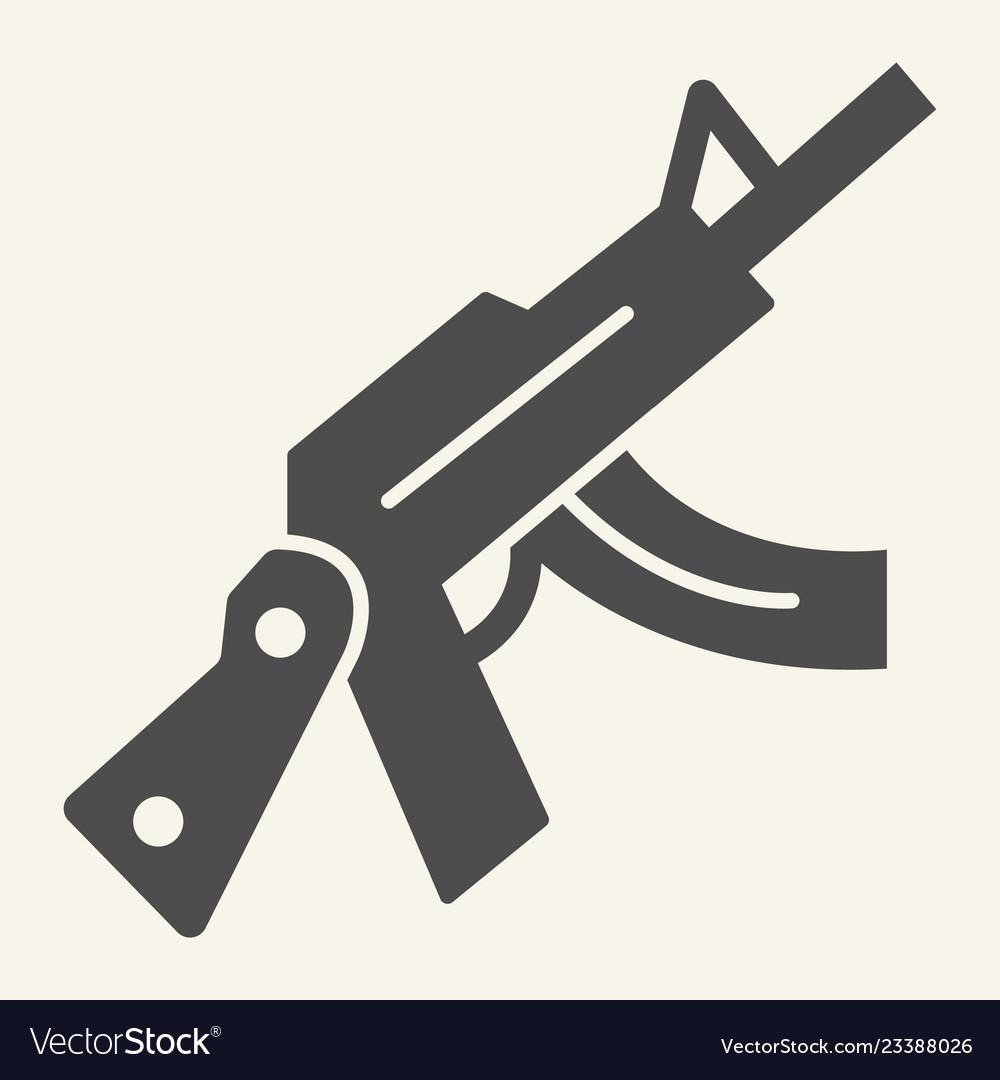 kalashnikov assault rifle solid