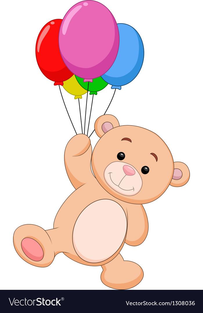 cute bear cartoon with