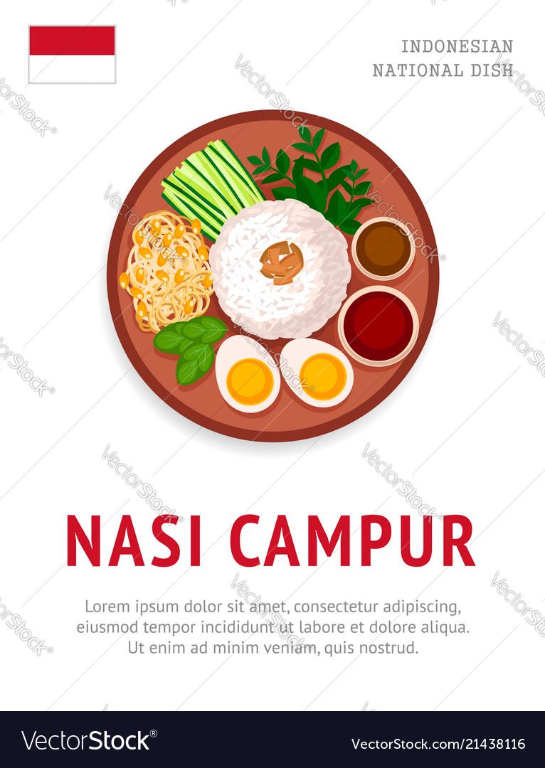 Nasi Tumpeng Vector : tumpeng, vector, Indonesian, Vector, Images